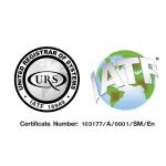 Rubber Parts Certificate