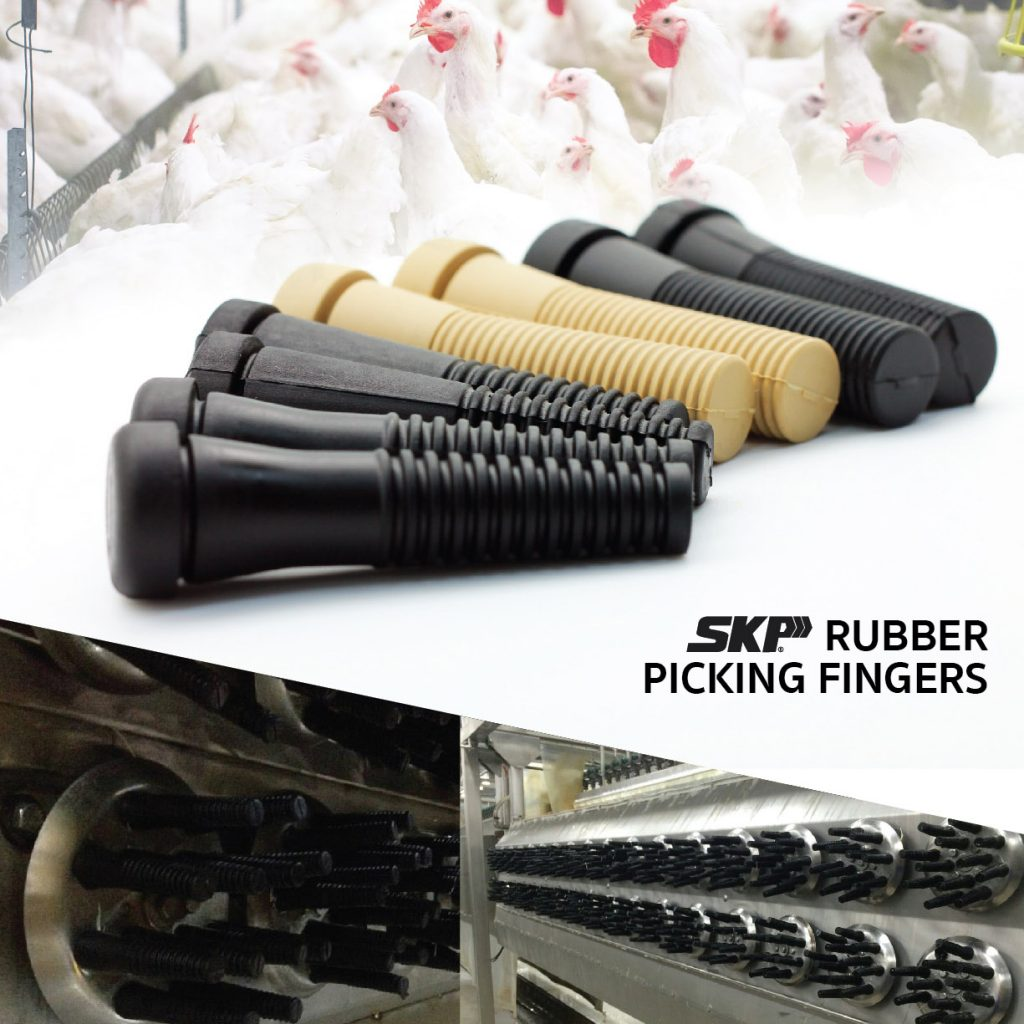 SKP rubber picking finger